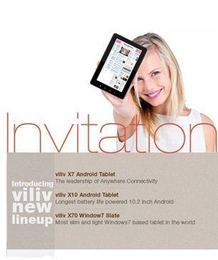 viliv invite