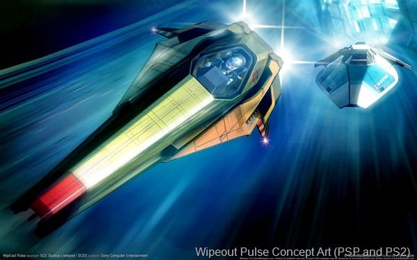 wipeout pulse concept art