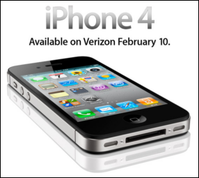 iphone verizon 4