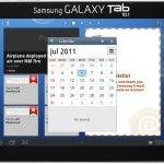 Samsung TouchWiz Agenda