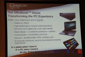 Ultrabook futures