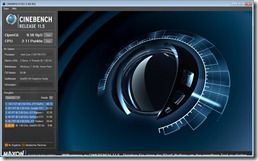Cinebench OPenGL CPU 2 cores battery performance