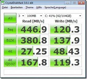 CrystalDisk Battery Saving Battery