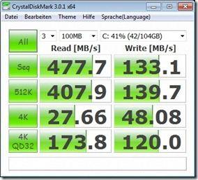 CrystalDisk High Power Mains