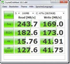 Crystaldiskmark 3.01 x64 battery power-saving mode