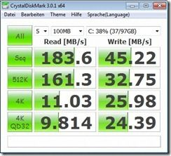 crystaldisk battery performance mode