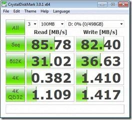 cdiskmark battery high perf