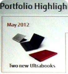 Fujitsu Ultrabook May