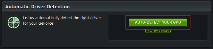 Update your nvidia geforce driver
