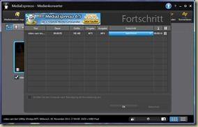 Media espresso 1080p to 480p test