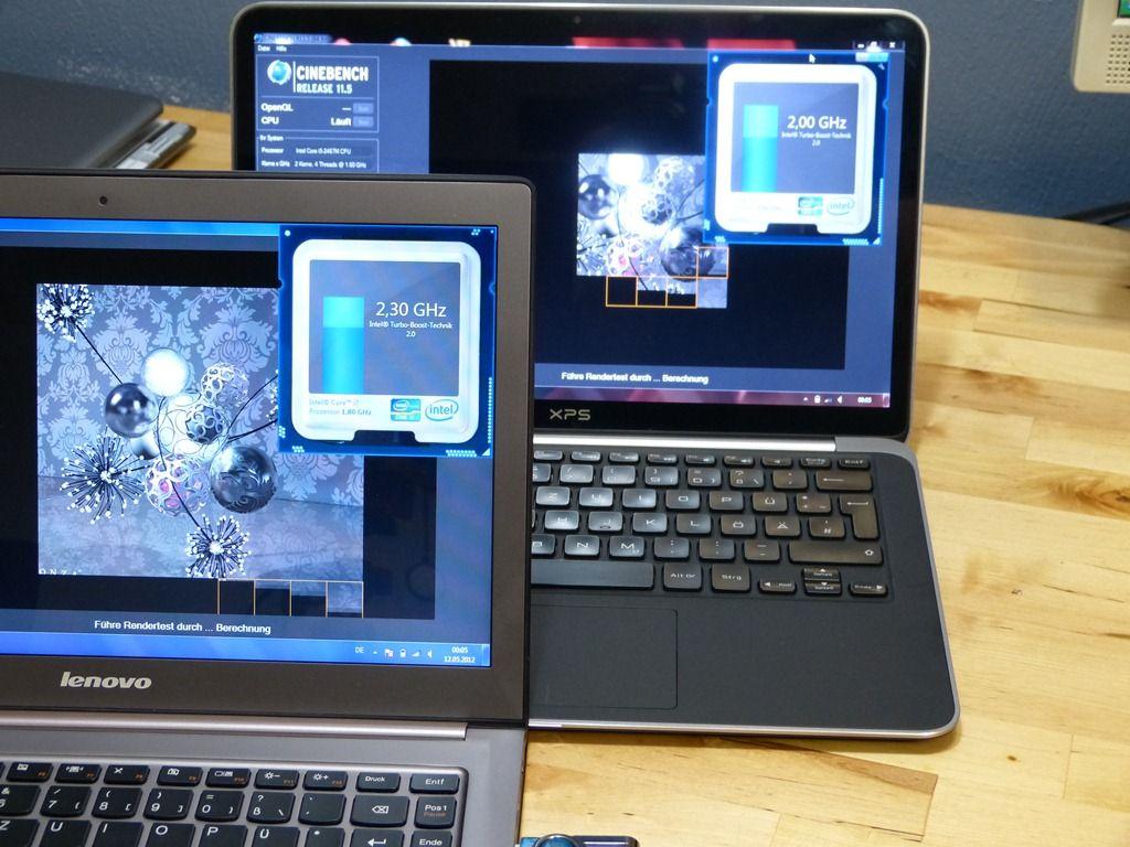 Dell XPS 13 vs Lenovo U300s