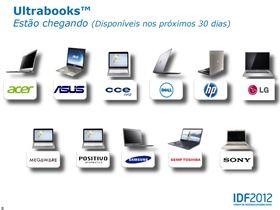 ultrabooks brazil 2012