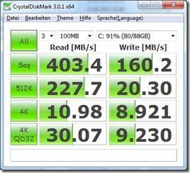 Crystaldiskmark battery balanced
