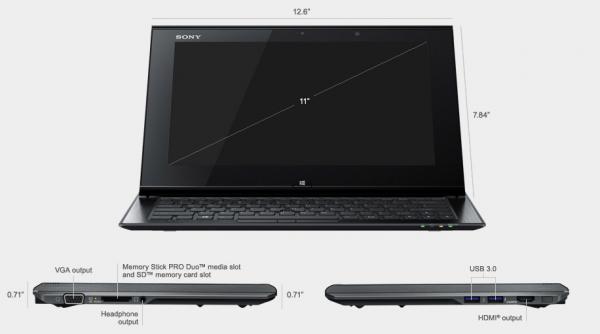 sony vaio duo 11 windows 8 ultrabook