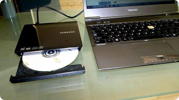 Ultrabook DVD