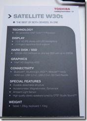 Toshiba W30T