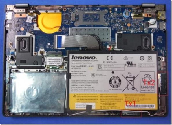 Lenovo Yoga 11 2 internal