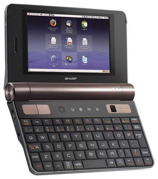 Sharp PCZ1 ARM-based smartbook running Ubuntu