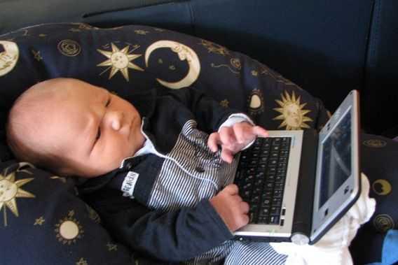 Baby Nicklas Computes
