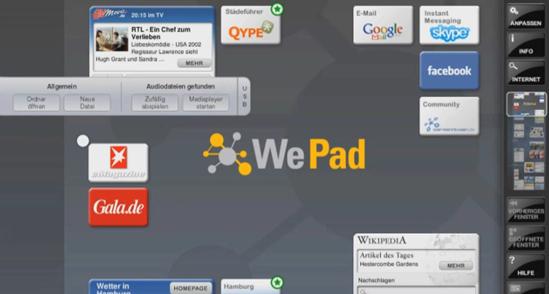 wepad interface