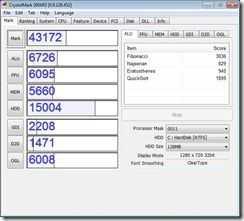 crystalmark - fresh x64 w7hp  4gb ssd