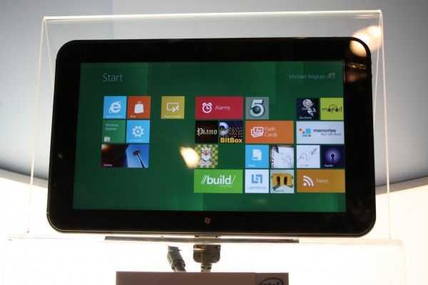 Intel Atom Clover Trail Windows 8 Tablet