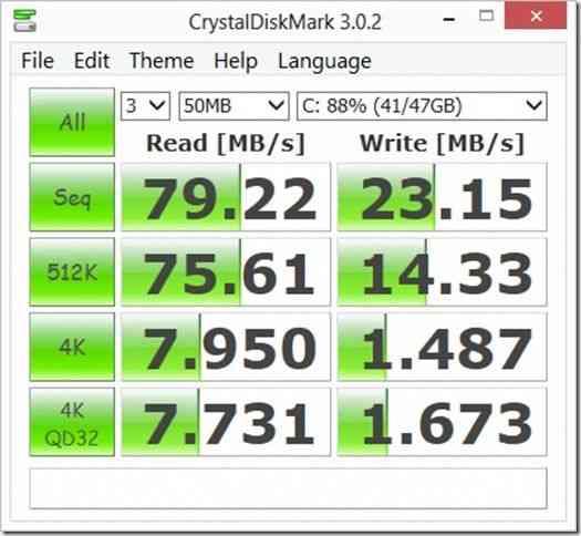 W510 Crystaldiskmark battery 2