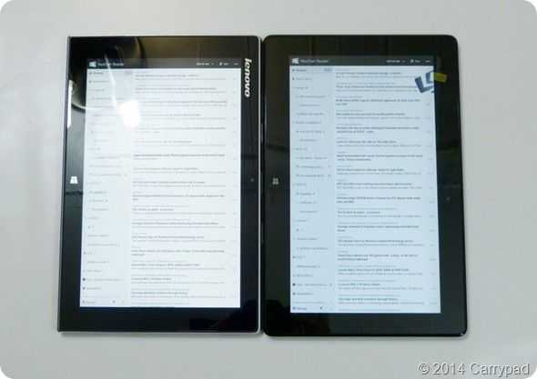 ASUS Transformer Book T100 Vs Lenovo Miix 2 10 _9_