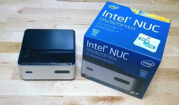 Intel NUC with Baytrail-M platform