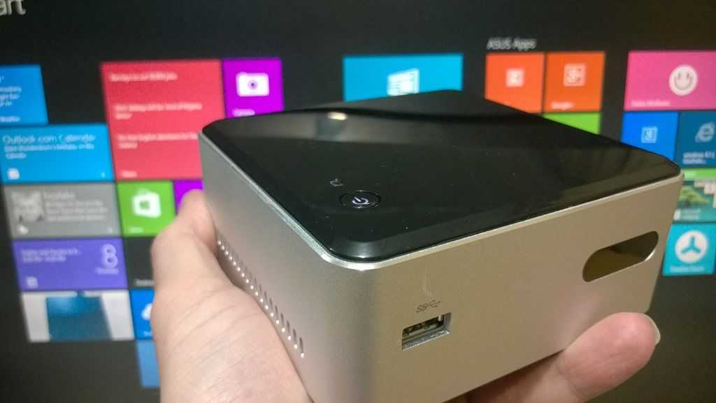 Intel NUC (DN2820FYKH, Celeron N2820) Windows 8 1