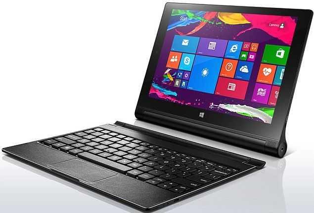 Lenovo Yoga 2 Tablets Have Unique Windows Tablet Pc Design