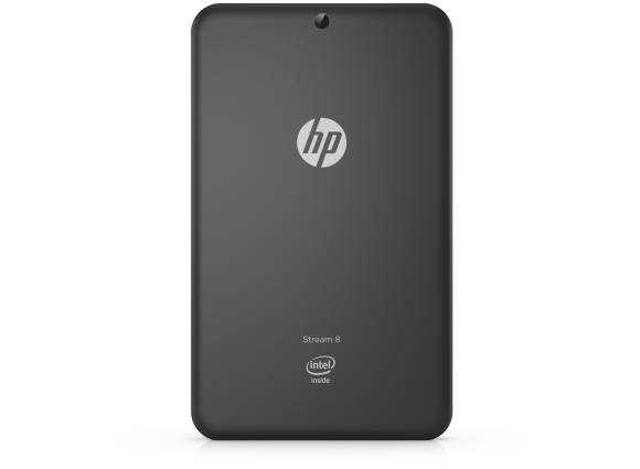 HP Stream 8 rear
