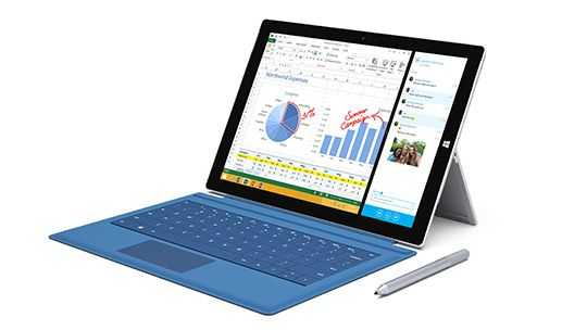 Surface Pro 3 with Type-Cover keyboard