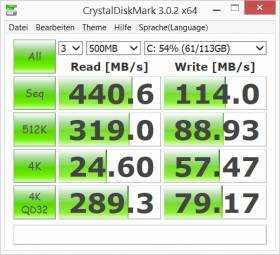 Disk performance - Surface Pro 3