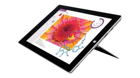 Surface 3 is being reviewed.