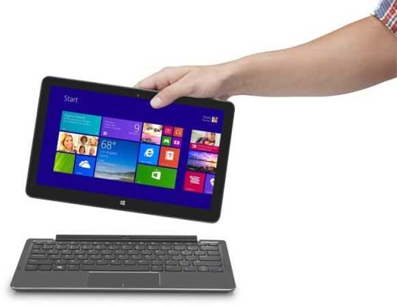 Dell Venue 11 Pro and keyboard.