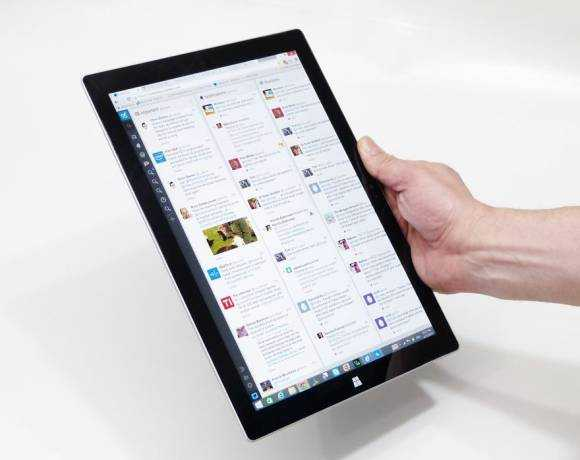 Surface Pro 3 is too heavy for long-term hand-holding.