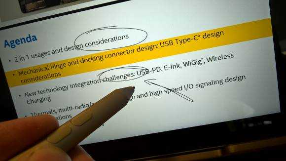 Windows 8 Reader app has pen support.