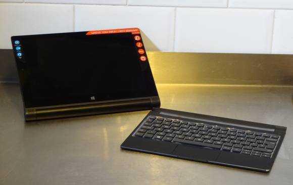 Lenovo Yoga Tablet 2 keyboard.