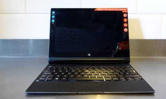 Lenovo Yoga Tablet 2 10 with Windows.