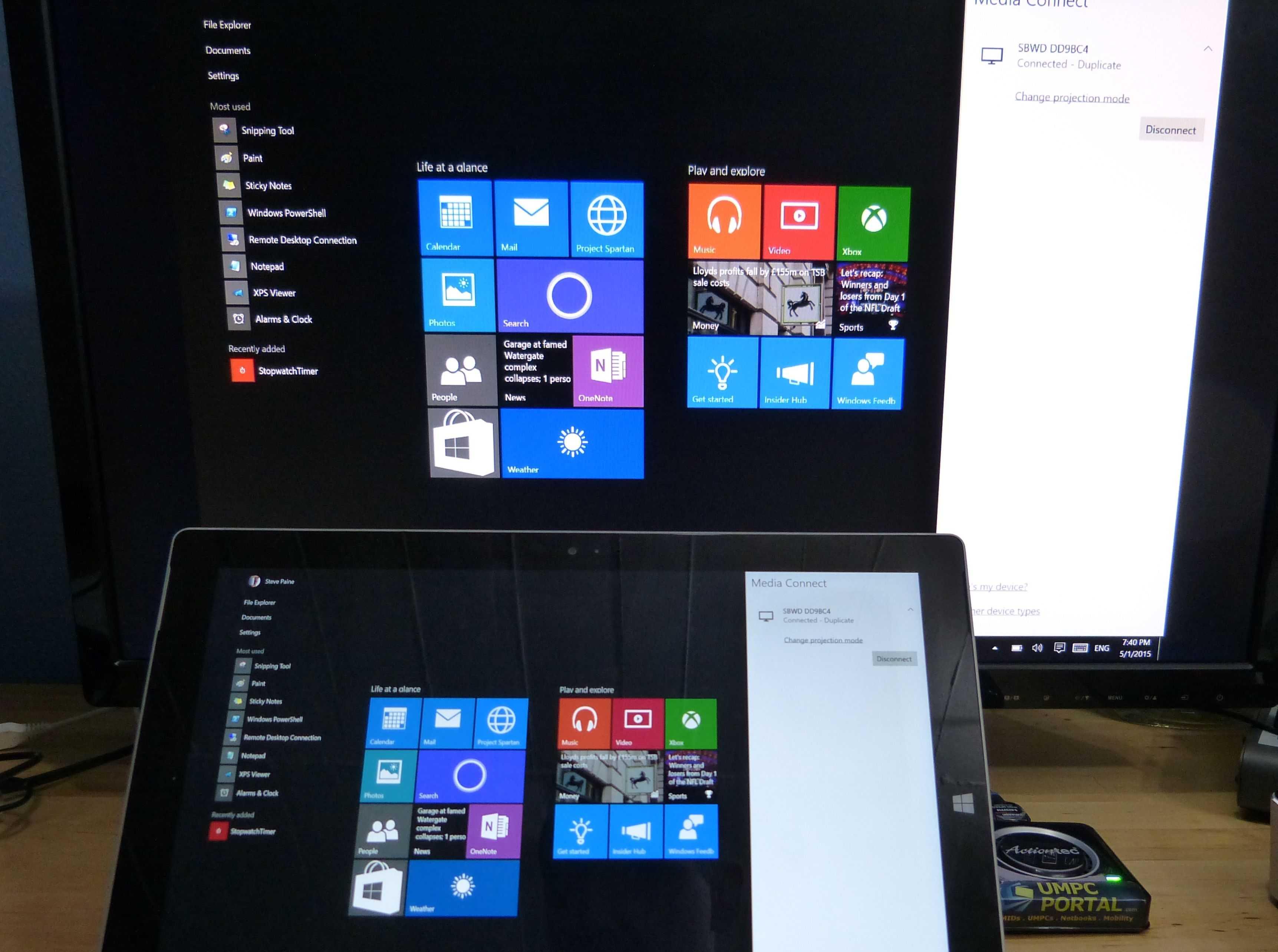 Miracast Windows 10