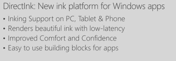 Overview of inking improvements in Windows 10