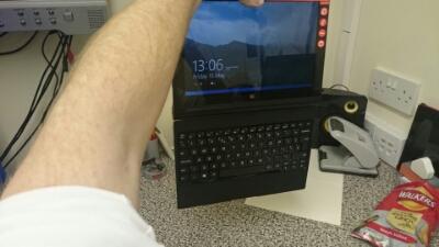 Keyboard just hanging around