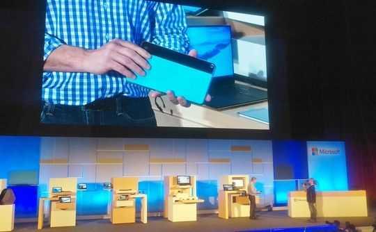 HP Windows 10 Tablet seen at Computex. (Via)