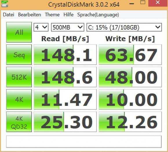 Improved eMMC performance