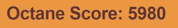 Intel Compute Stick Octane V2 score: 5980