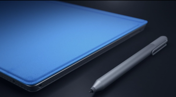 Surface Pro 4 and stylus.