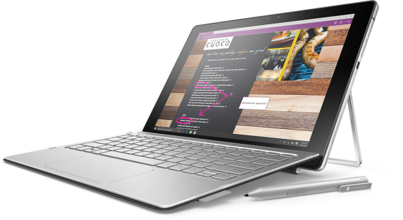 Hp Spectre X2 2015 with Core m CPU.
