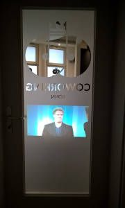 Rear projection - Window