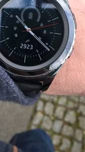 Gear S2 classic steps